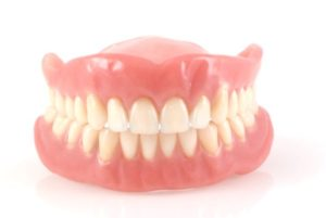 typical set of dentures
